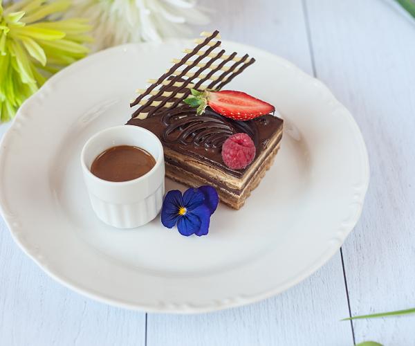 dessert le marais receprion